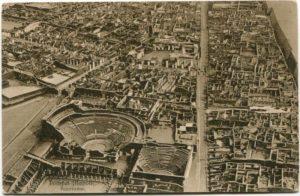 Pompéi près de Naples, la cité romaine détruite par le Vésuve