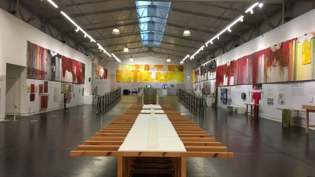 Museo Nitsch dans le quartier de Sanita - Materdei à Naples. Photo Fondazione Morra