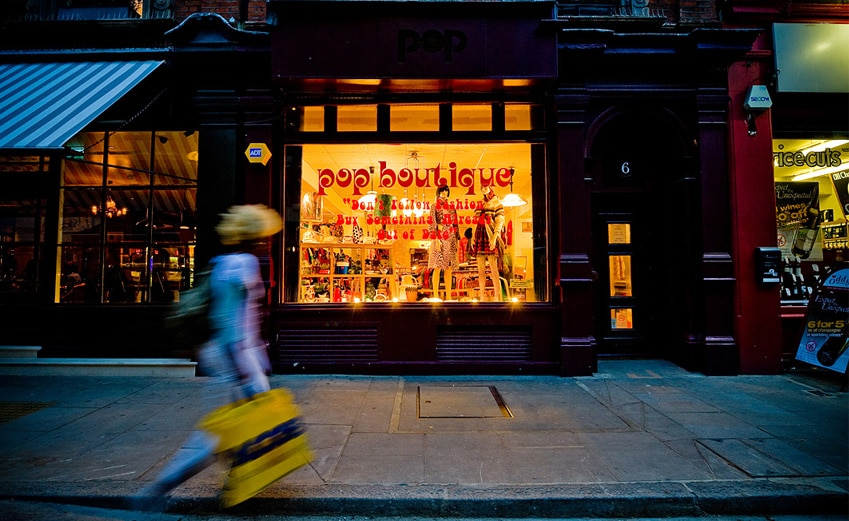 Pop, magasin de déco et de fringues vintage à Londres [Covent garden]