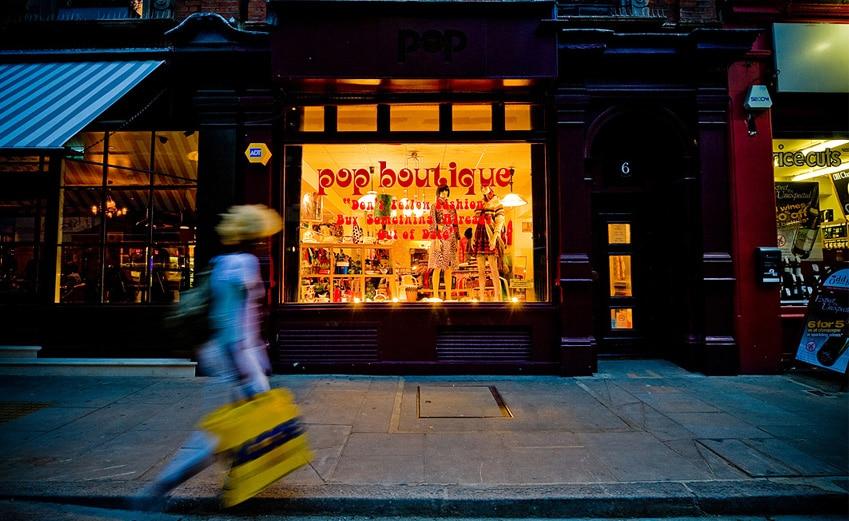 Pop, magasin de déco et de fringues vintage à Londres [Covent garden]