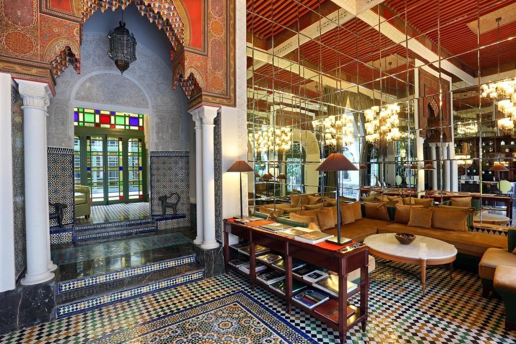 Palais Faraj Suites & Spa à Fès : Elégance des espaces communs.