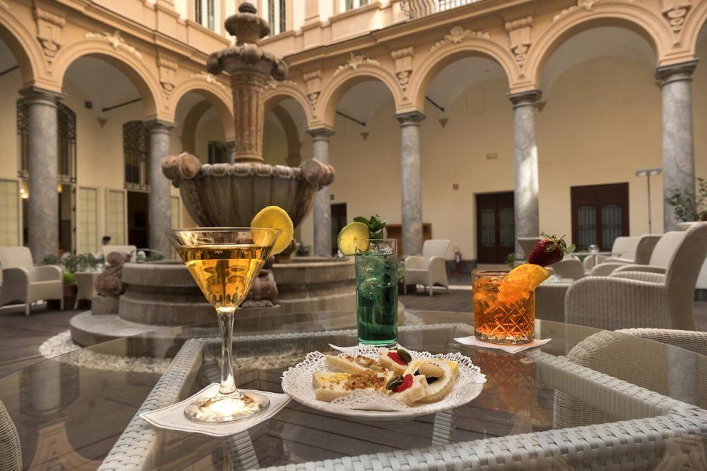 Hotel de luxe à Palerme : Grand Hotel Piazza Borsa.