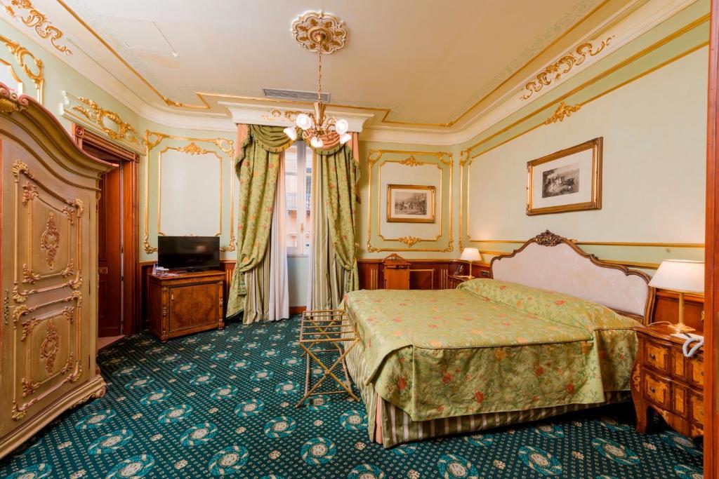 Hotel de luxe à Palerme : Grand Hotel Wagner.