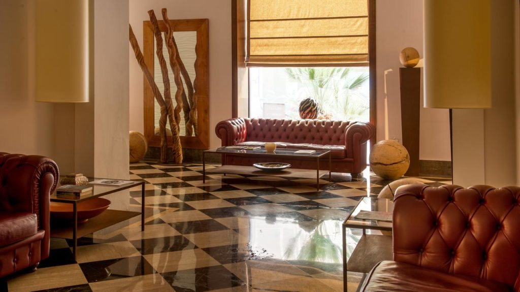 Hotel de luxe à Palerme : Hotel Federico II Central Palace II.