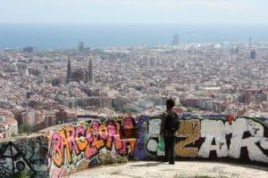 Superbe parc du Guinardo à Barcelone [Horta]