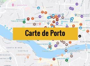 Carte de Porto (Portugal) : Plan détaillé gratuit et en français à télécharger