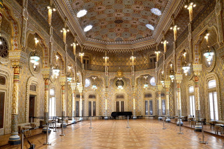 Salon arabe du Palácio da Bolsa (Palais de la Bourse) à Porto - Photo de Marcello Saponaro