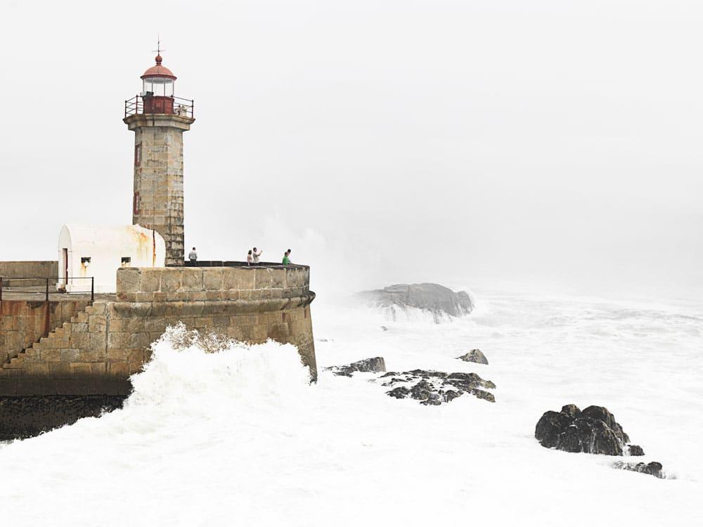 Phare à Porto - Photo de Monica Silva