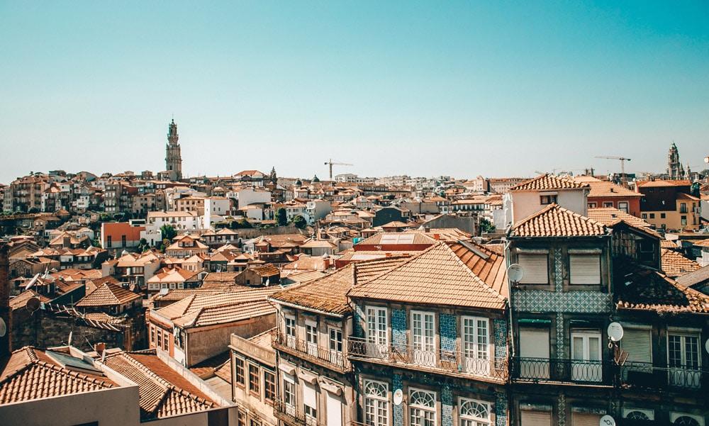 Quartiers de Porto : Vue depuis la cathédrale de la Sé - Photo d'Eugene Zhyvchik