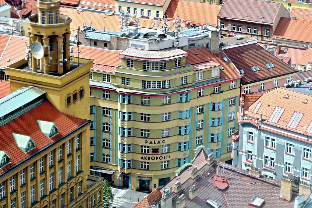 Centre culturel Akropolis dans le quartier de Zizkov à Prague - Photo de VitVit