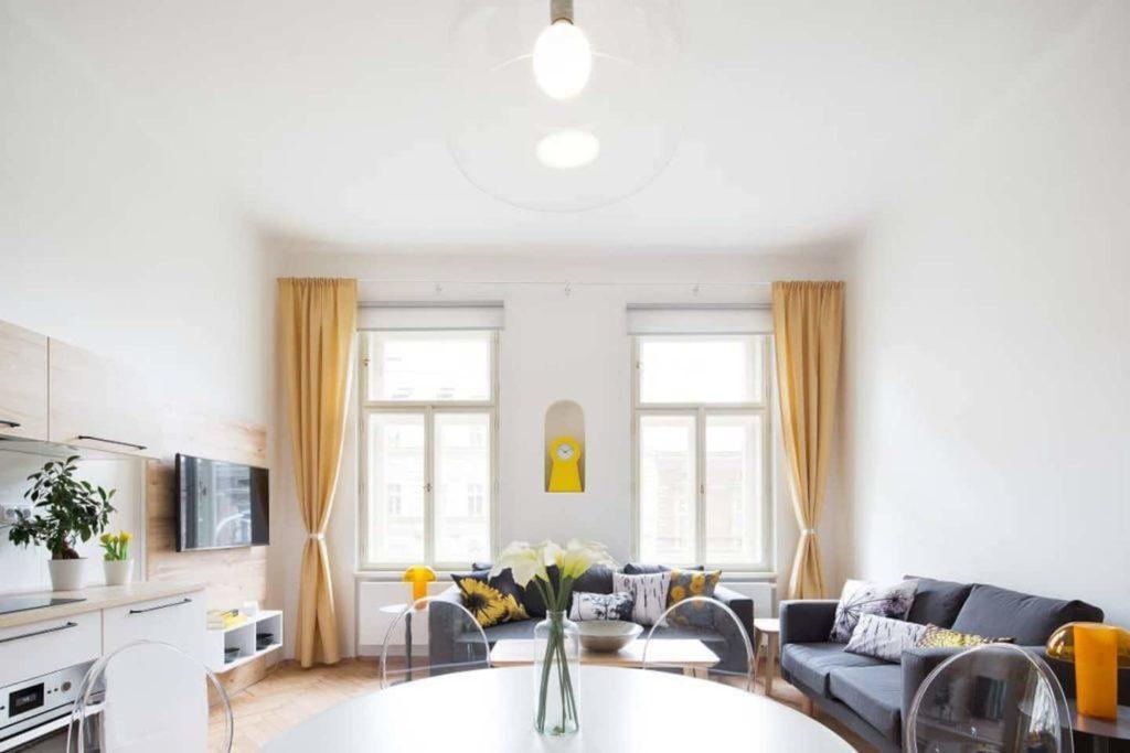 Airbnb à Prague : Appartement en location dans le quartier branché.