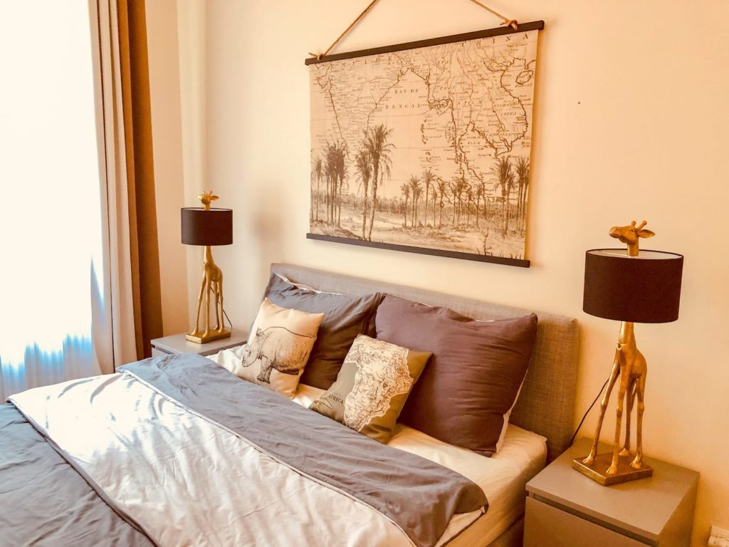 Airbnb à Prague : Location courte durée ambiance des tropiques.