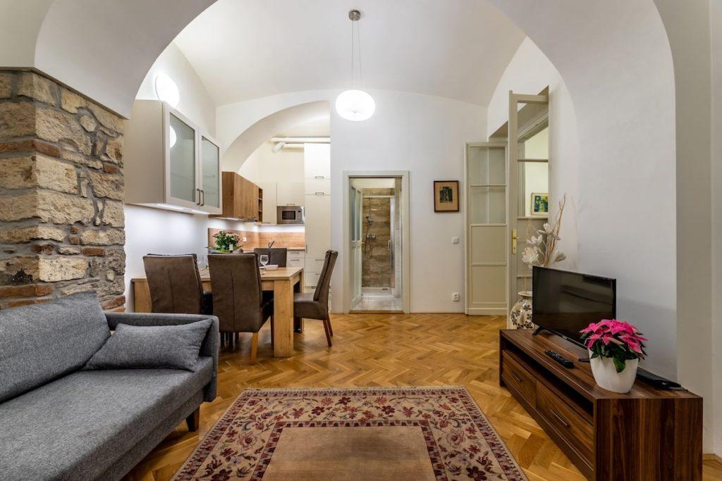 Airbnb à Prague : Hébergement plein de charme dans le centre historique.