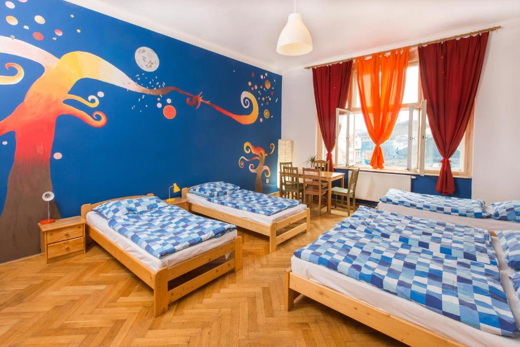 Hostel Downtown, auberge de jeunesse à Prague.