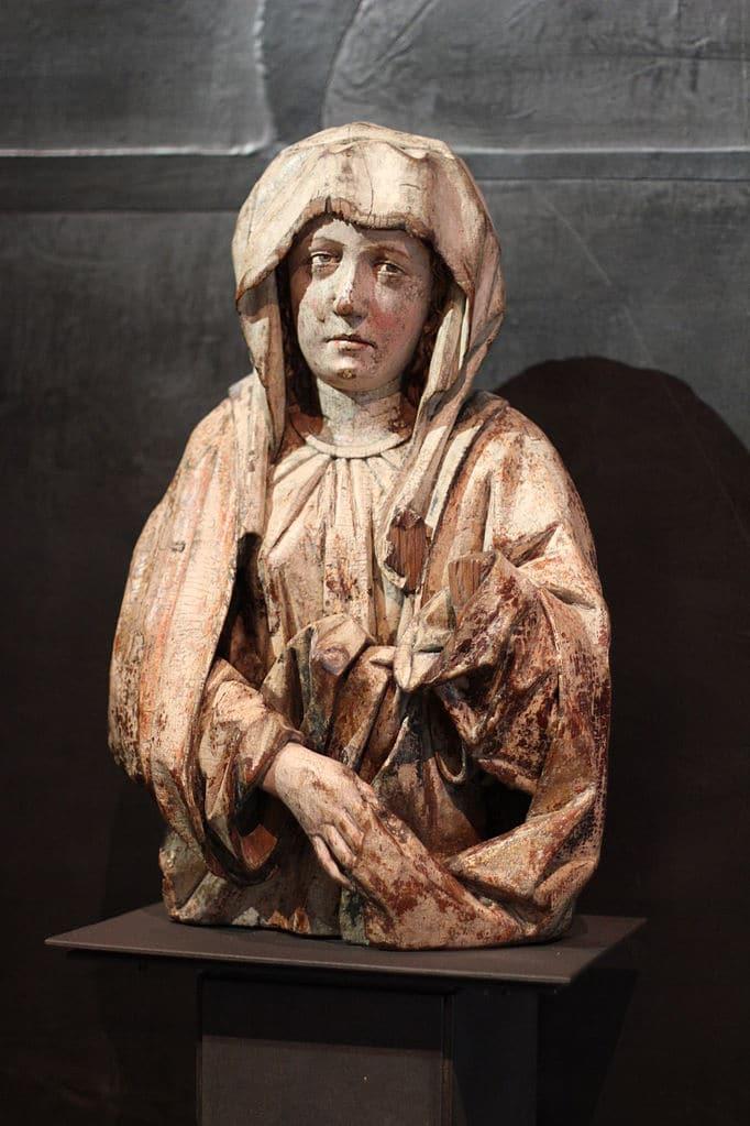 Musée d'art gothique dans le couvent de Saint Agnes dans le quartier de Josefov à Prague