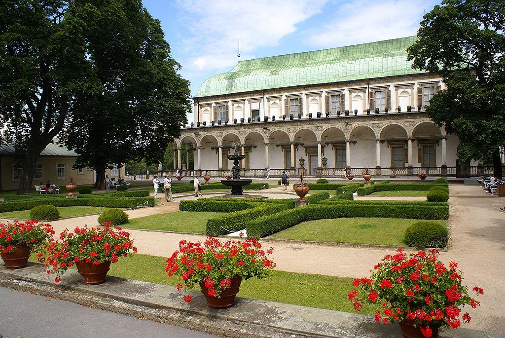 Jardin royal au nord du chateau de Prague dans le Hradcany - Photo de Karen Blaha