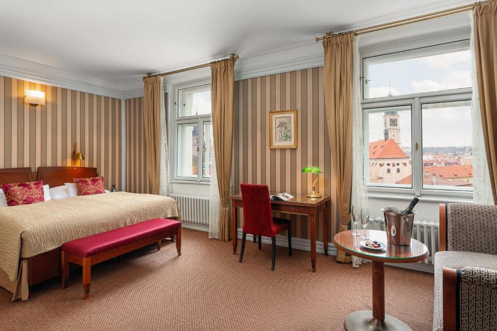 Hotel de luxe à Prague : Hotel Paris-Prague.