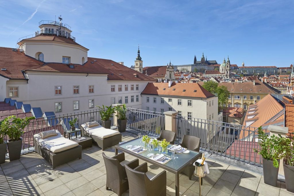 Mandarin Oriental, hotel de luxe à Prague.