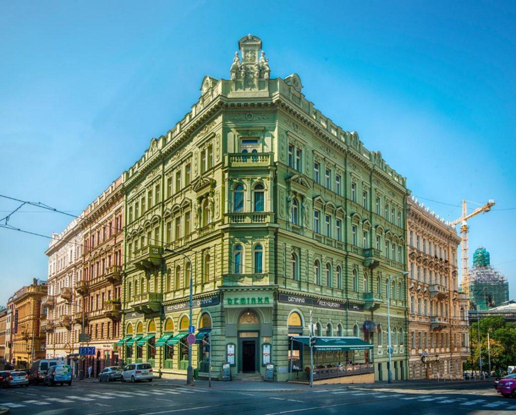 Deminka Palace, hotel pas cher à Prague