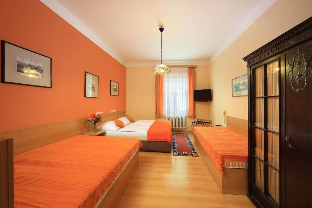 Hotel Golden City Garni, hôtel pas cher à Prague.