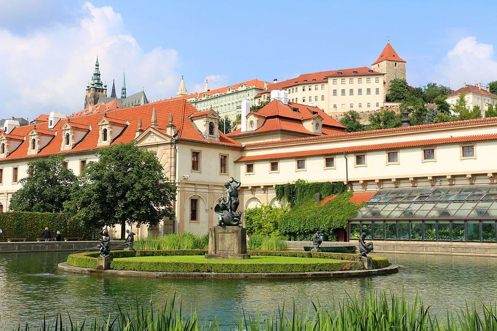 Jardin Wallenstein dans le quartier de Mala Strana à Prague - Photo de Ricardalovesmonuments