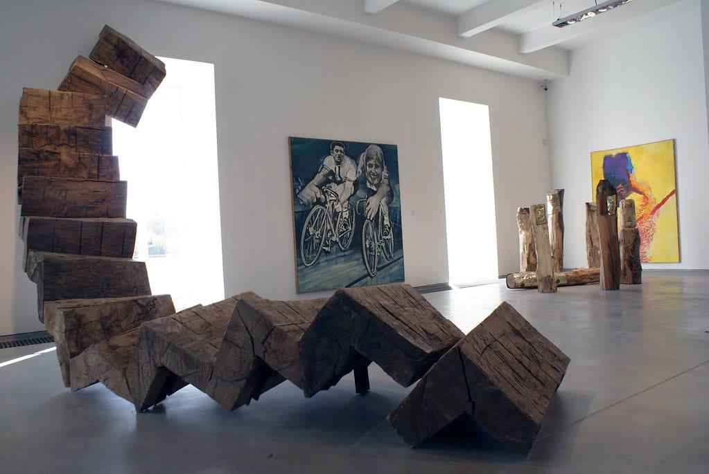 Musée Kampa dans le quartier Mala Strana à Prague.