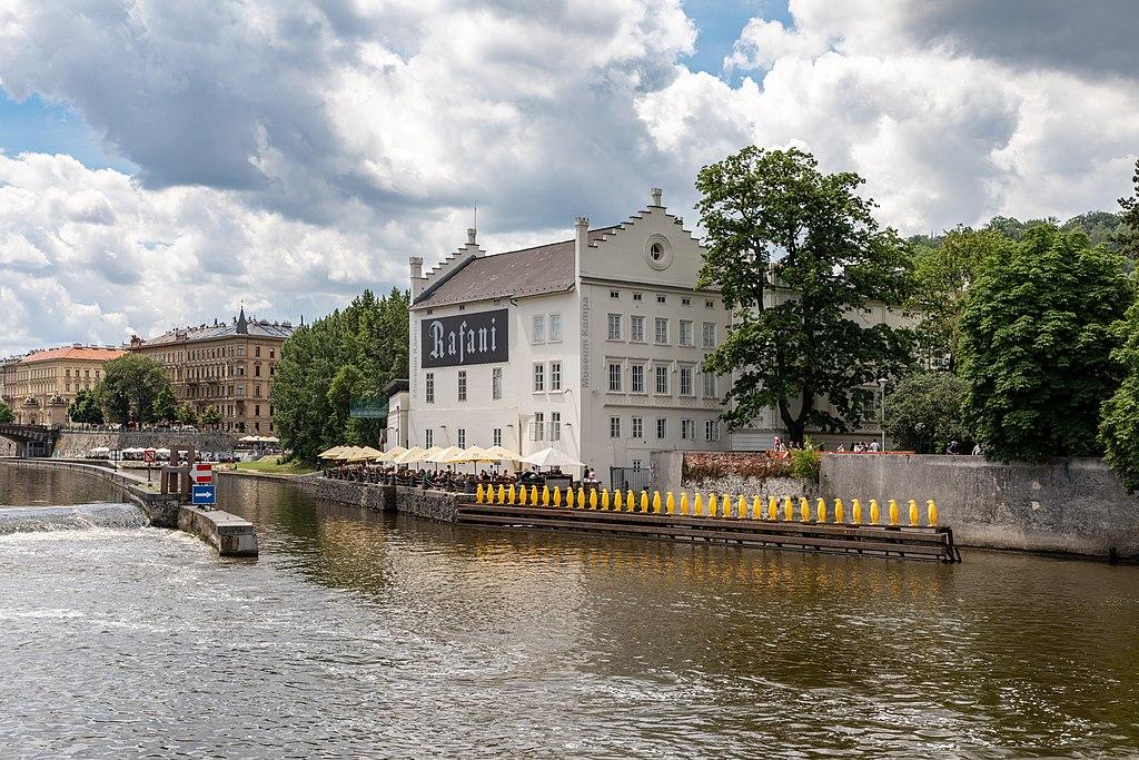 Musée Kampa dans le quartier Mala Strana à Prague - Photo de Dietmar Rabich