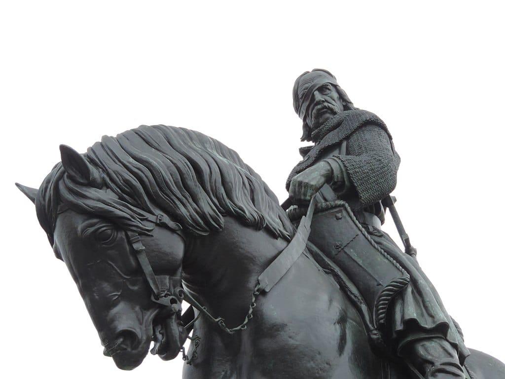 Statue de Jan Zizka dans le quartier de Zizkov à Prague - Photo de Jan Starec