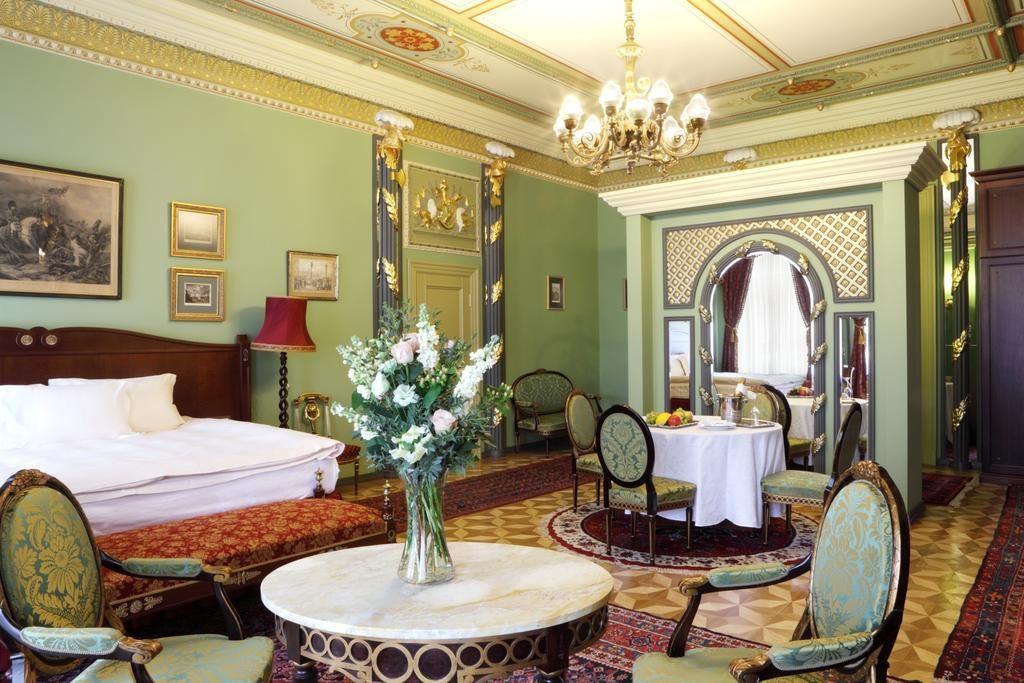 Dans le Gallery Park Hotel & SPA de Riga. Impressionnant et inoubliable.
