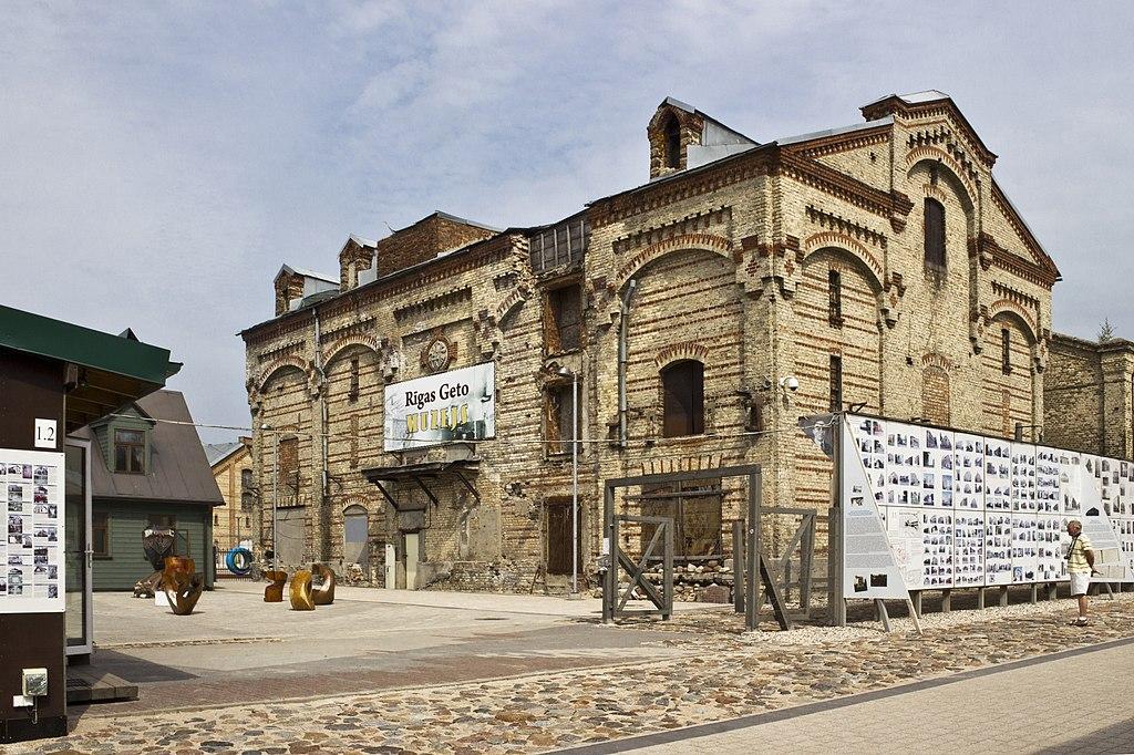 Musée du ghetto de Riga dans le quartier de Maskavas Forstate - Photo de Laima Gutmane