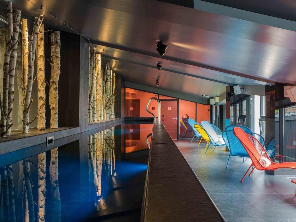 Une des piscines les plus originales de Riga se trouve à l'hôtel Pullman Riga Old Town.