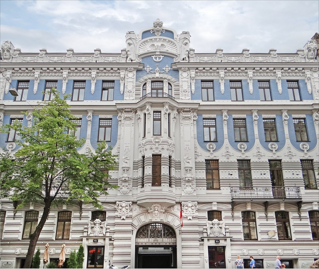 Art nouveau à Riga :  Histoire et plus belles constructions