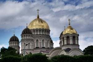 Cathédrale orthodoxe de la nativité de Riga : Riche contraste [Centrs]