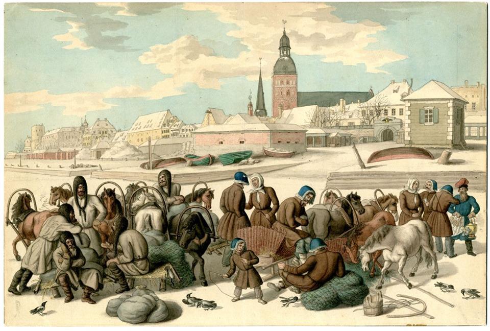 Histoire rapide de Riga, capitale de la Lettonie