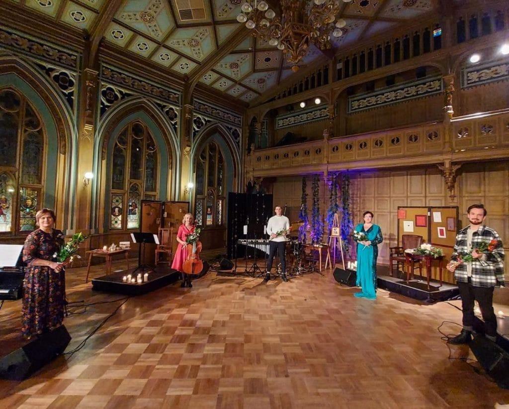 Concert dans la Petite guilde de la Vieille Ville de Riga.