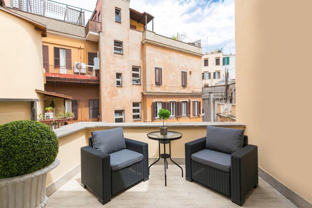 Airbnb à Rome : Bel appart à louer dans le centre.