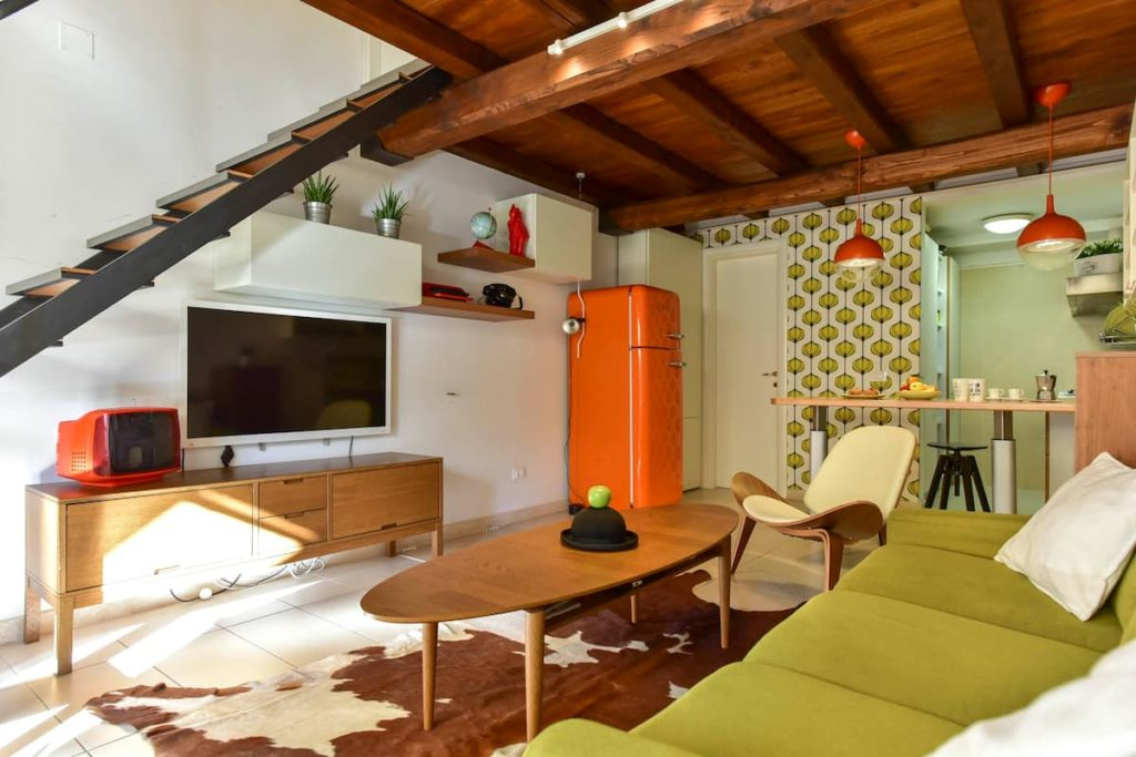 Airbnb à Rome : Appart à louer vintage et sympa.
