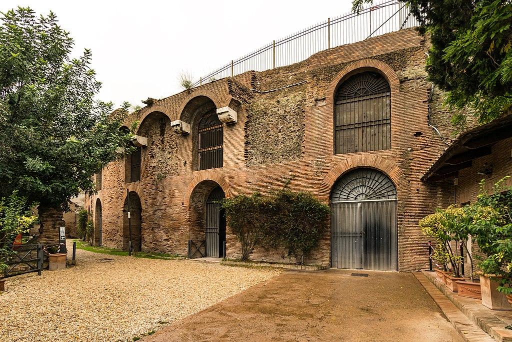 Domus Aurea dans le quartier antique de Rome - Photo de Rabax63