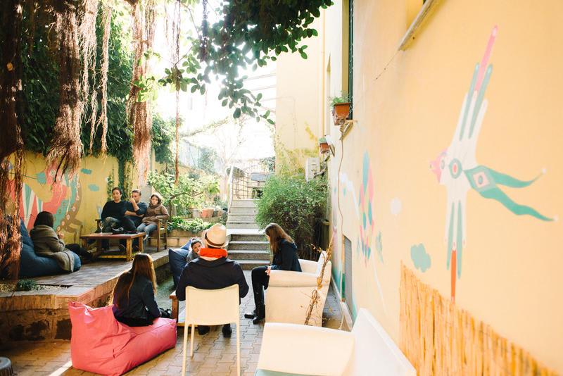 The Beehive, auberge de jeunesse à Rome.