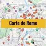 Carte de Rome (Italie) : Plan détaillé gratuit et en français à télécharger