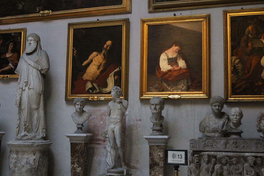 Dans le Palazzo Doria Pamphilj dans le centre historique de Rome - Photo de Founzy