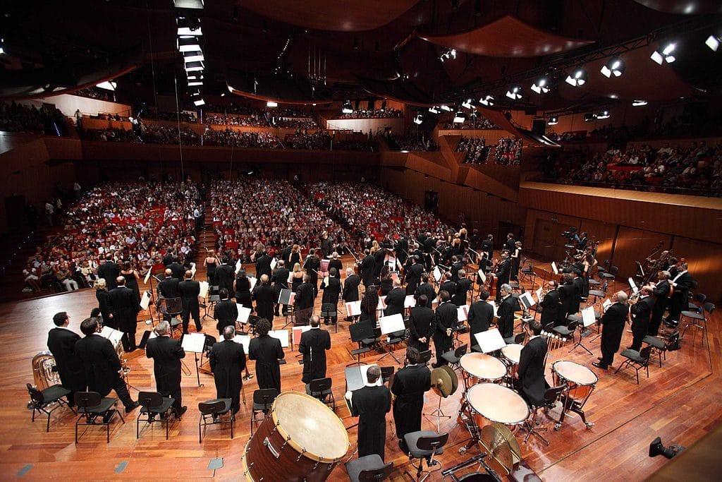 Concert de musique classique à Rome : Auditorium Parco della Musica à Rome et son Orchestra dell'Accademia Nazionale di Santa Cecilia - Photo 00santacecilia00