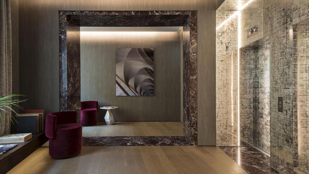 Fendi Private Suite, hotel dans le centre de Rome.