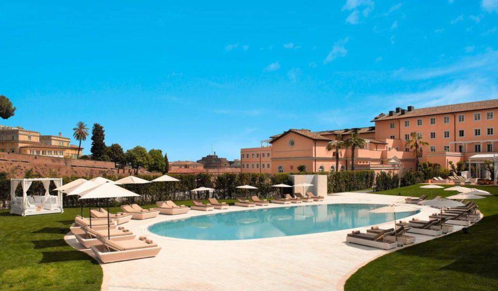 Hotel Villa Agrippina Gran Meliá : Hotel de luxe à Rome.