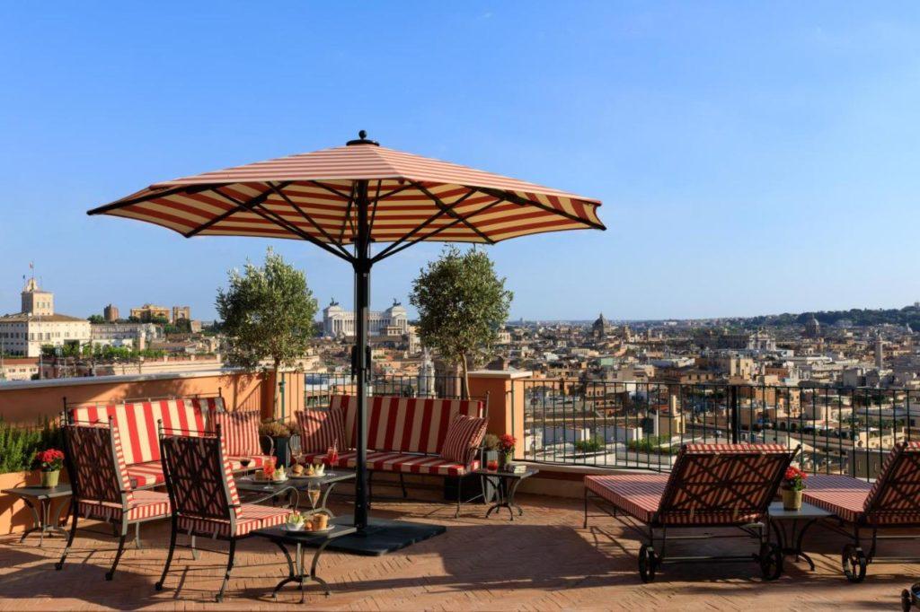 Hotel Rocco Forte : Hotel de luxe à Rome.