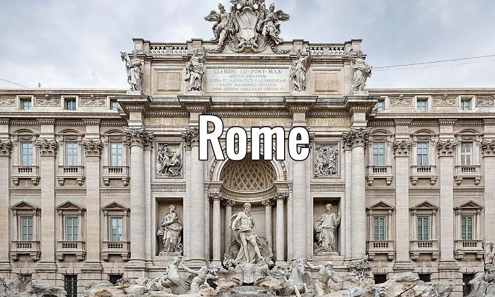 Visiter Rome en Italie pendant un week-end ou plus. Photo de Diliff