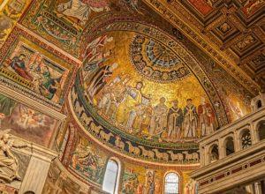 Basilique Saint Marie du Trastevere : Byzance à Rome [Trastevere]