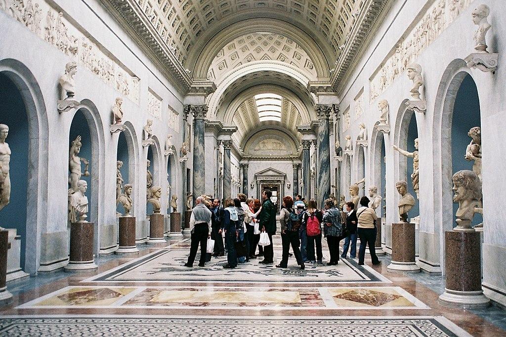 Musée du Vatican à Rome. Photo de Jesús Moreno.