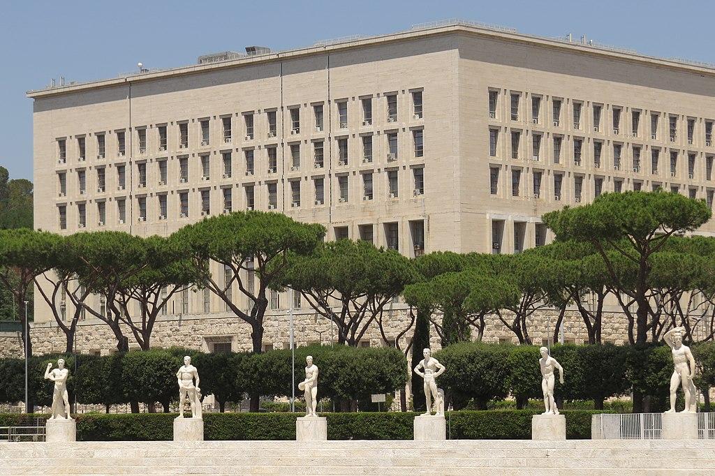 Foro Italico et architecture fasciste dans le nord de Rome - Photo de Simone Ramella