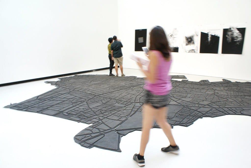 Expo sur Beyrouth dans le musée d'art contemporain Maxxi dans le nord de Rome